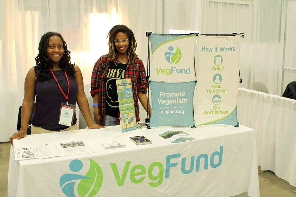 VegFund volunteers at the New York Green Festival 2016