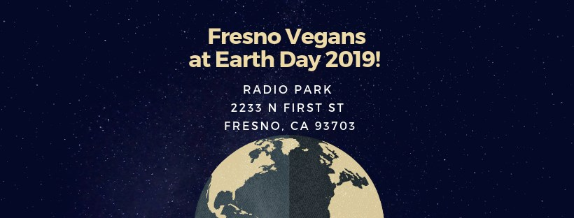Fresno Vegans at Earth Day 2019
