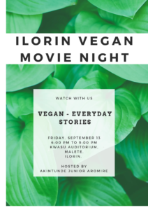 Ilorin Vegan Movie Night