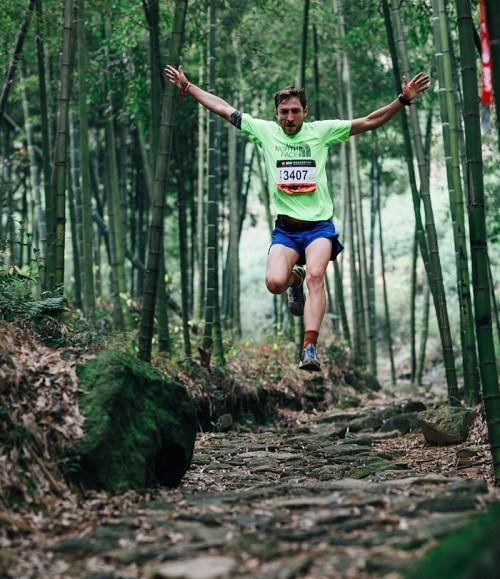Vegan endurance runner, Vlad Ixel