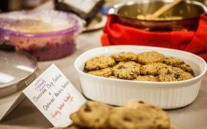 Vegan Thanksgiving food samples