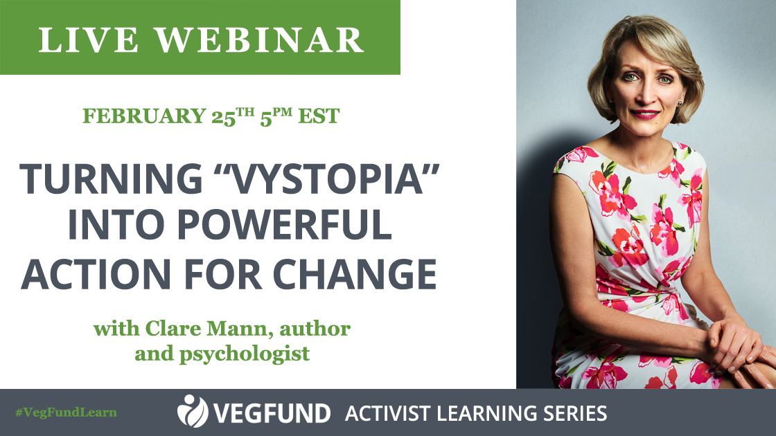 """Turning """"Vystopia"""" into Powerful Action for Change - Clare Mann"""