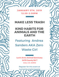 Make Less Trash - Kind Habits for Animals and The Earth