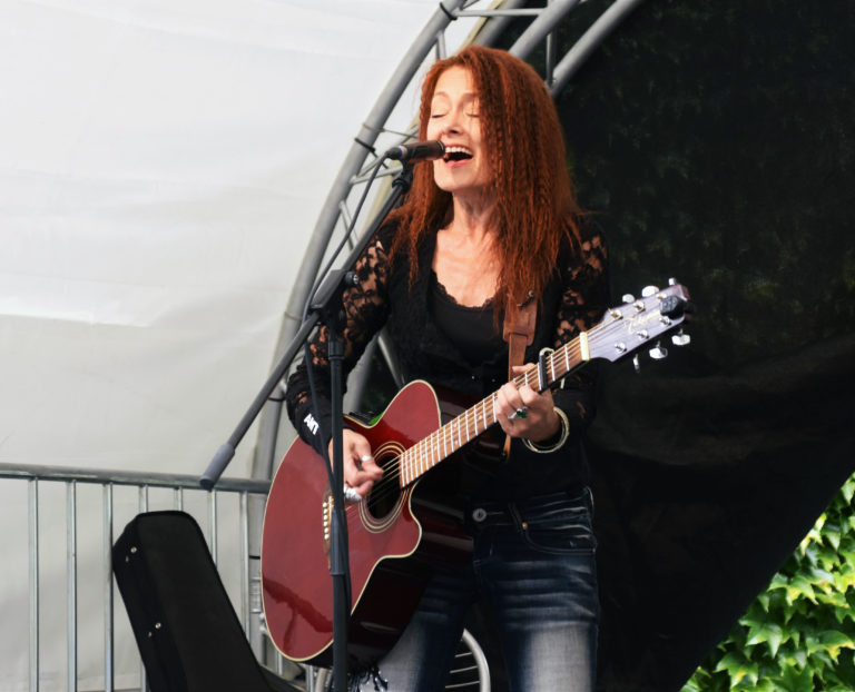 Emaline Delapaix performs at Animal Pride Day 2019