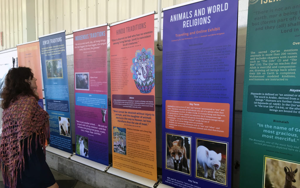 Animals and World Religions: A Vegan Traveling Exhibition