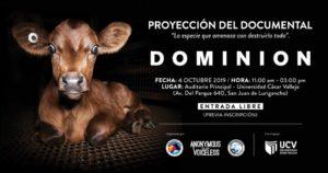 Dominion Film Screening in Lima, Peru