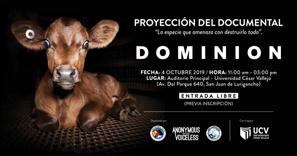 Dominion Film Screening in Lima, Peru