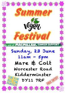 Summer Vegan Festival