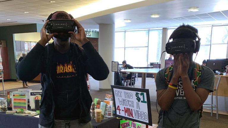 Paid-Per-View Vegan Activism at Minnesota Universities