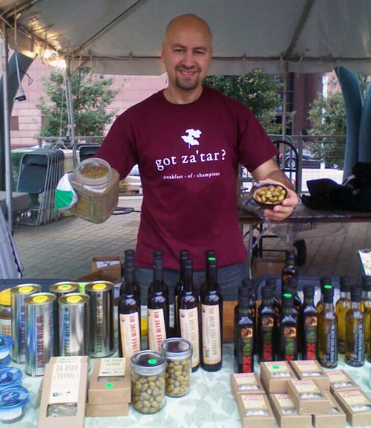 Vegan Booth at Palestine Cultural Day