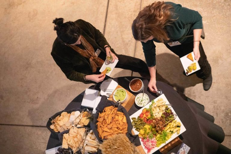 Sustainable vegan event food at the 2019 Animal Law Conference