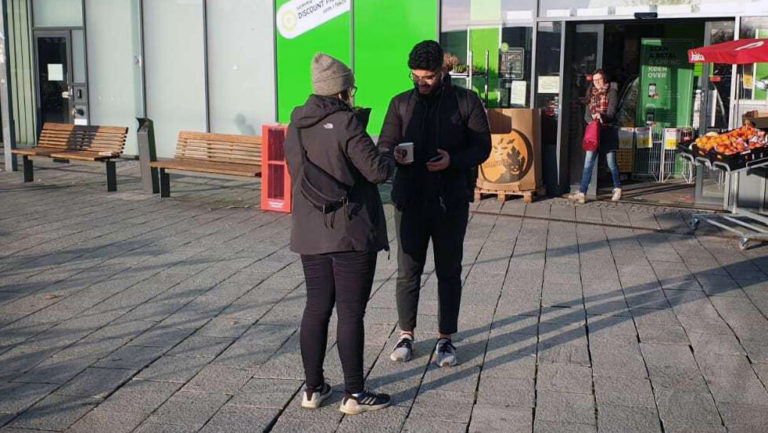 Vegan Hot Cocoa Activism at Copenhagen University